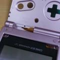 (動画)中古のGameboy Advance SPを新品同様にしてみる