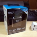 [動画あり] Sony Smartwatch2 到着、開梱、初期設定