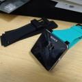 Sony SmartWatch2の純正交換バンドターコイズ色を買ってみた
