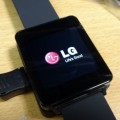 Android Wear LG G Watch到着、開封、少しいじり。