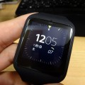 Android Wear搭載Sony Smartwatch3捕獲
