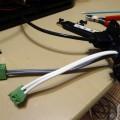 デルタ型3Dプリンター出来るかな 電源ケーブル強化編