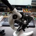 顕微鏡をArduinoで改造してみる